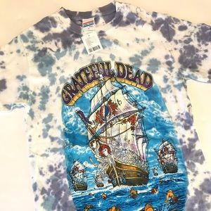 Grateful Dead T-Shirt Small Tie Dye NWT